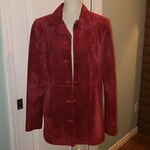 *Suede Jacket, Size Medium